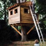 Prefab Treehouse Sale Homes Backyard Clubhouse Kits