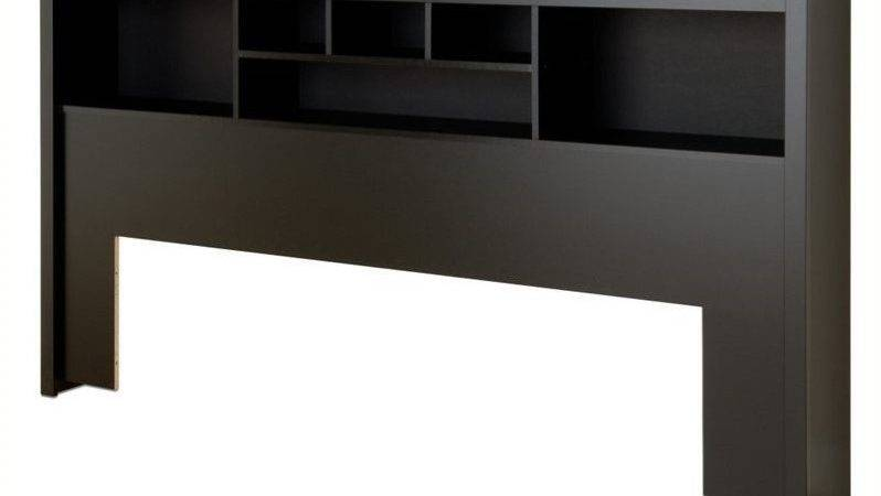 Prepac Sonoma Black King Bookcase Headboard Ebay