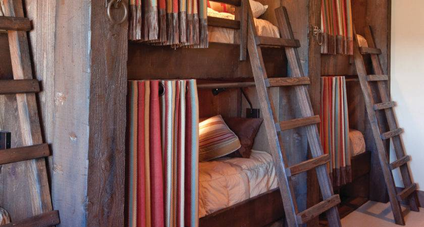 Privacy Curtains Under Bed Storage Bedroom Rustic