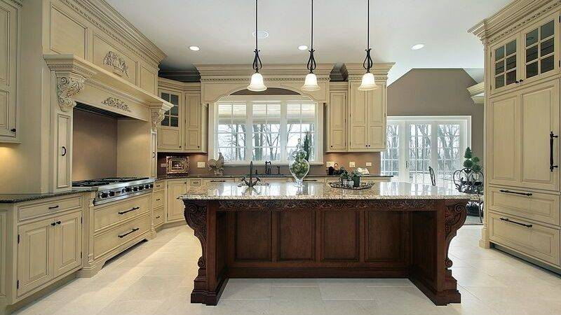 Purchasing Two Tone Kitchen Cabinets Interior