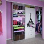 Purple Colour Bedroom Design Big Girls Closet Girl Small