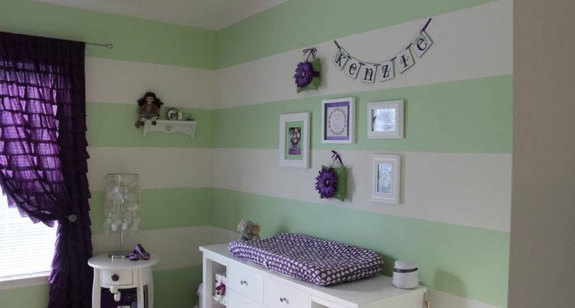 Purple Green Nursery Project