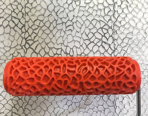 Python Skin Pattern Decorative Patterned Paint Roller