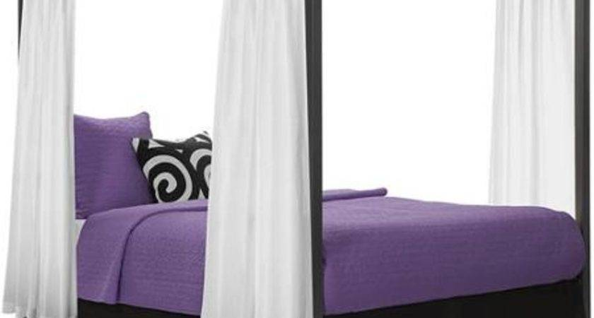 Queen Canopy Bed Frame Bangdodo