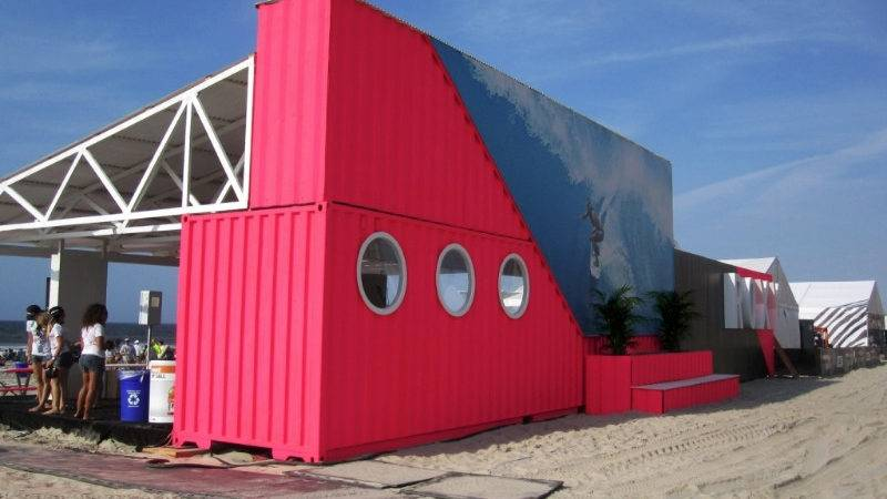 Quiksilver Pro New York Shipping Container Ideas