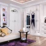Reach Walk Bedroom Closet Storage Systems