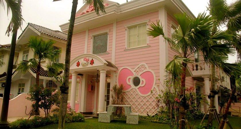 Real Hello Kitty House Home Design