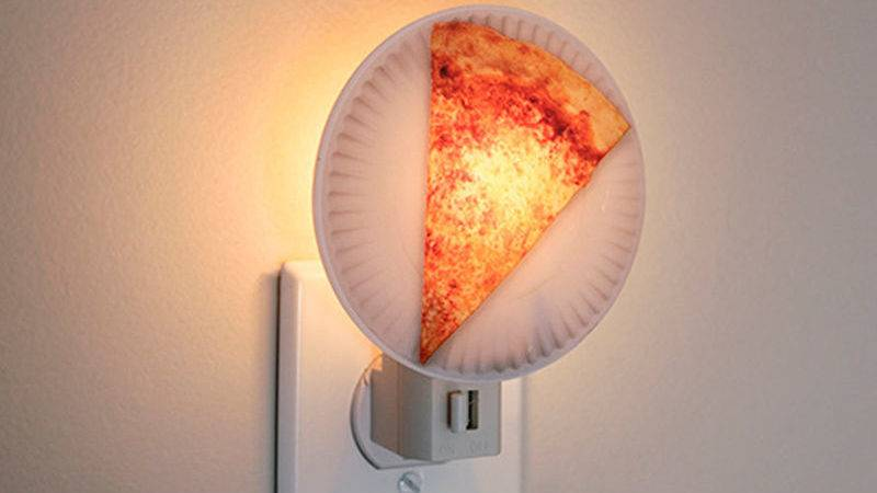Realistic Pizza Lamps Night Light Design