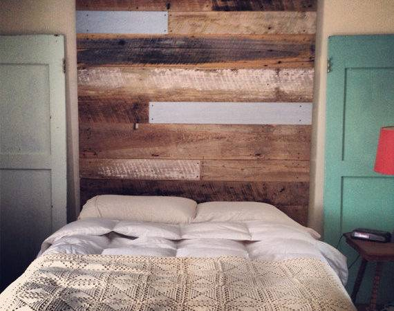 Reclaimed Wood Headboard Tall Revival Supply