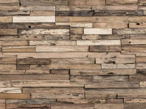 Reclaimed Wood Tiles Wall Decor Come Various