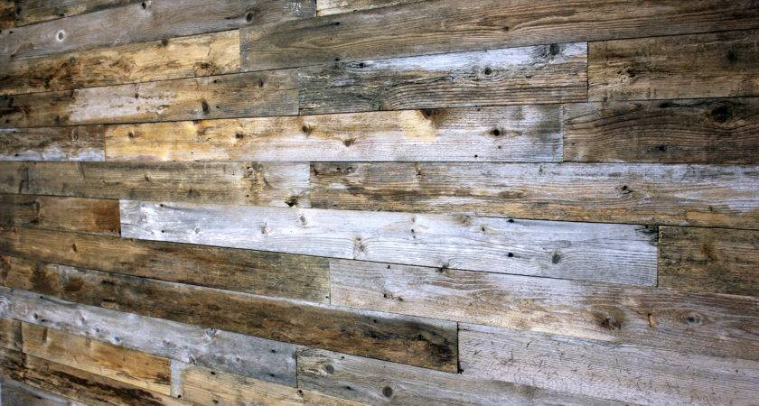 Reclaimed Wood Wall Weekend Country Girl
