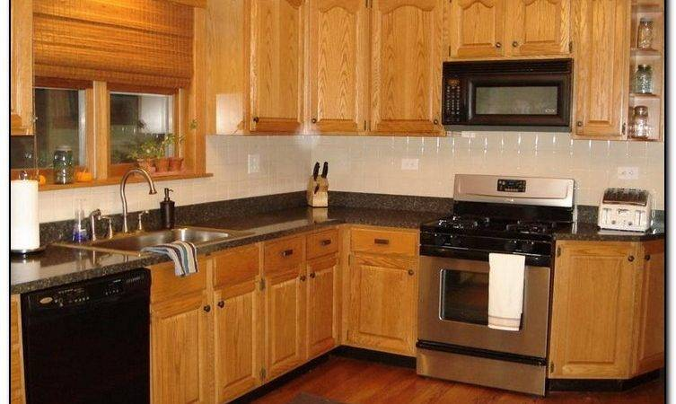 Recommended Kitchen Color Ideas Oak Cabinets Home