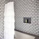 Red White Grey Subway Tile Designs Furnitureteams