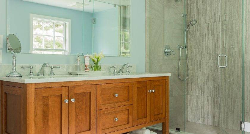 Redo Oak Bathroom Small Home
