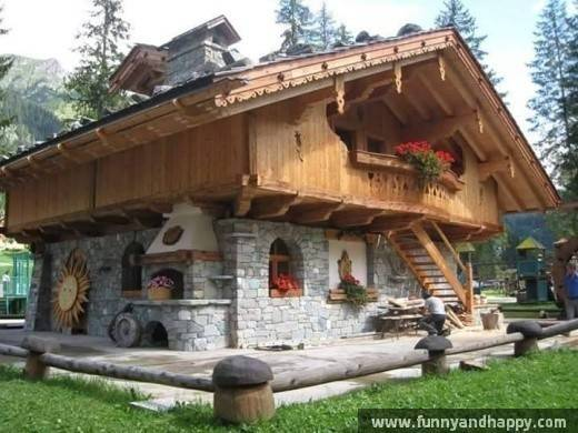 Refer Wood Stone House Funny