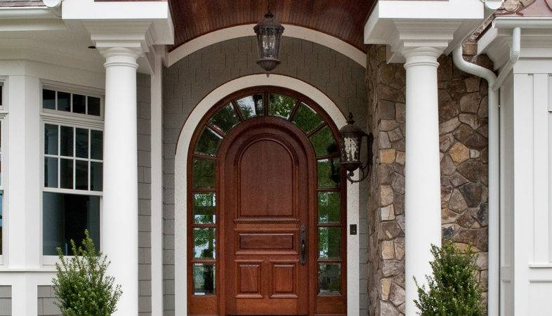 Refresh Your Entryway These Colonial Front Door