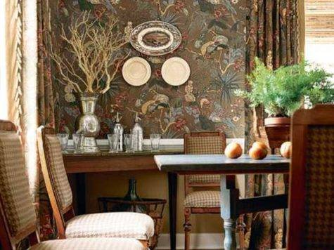Remarkable Colonial Style House Interiors Ethnic Flare