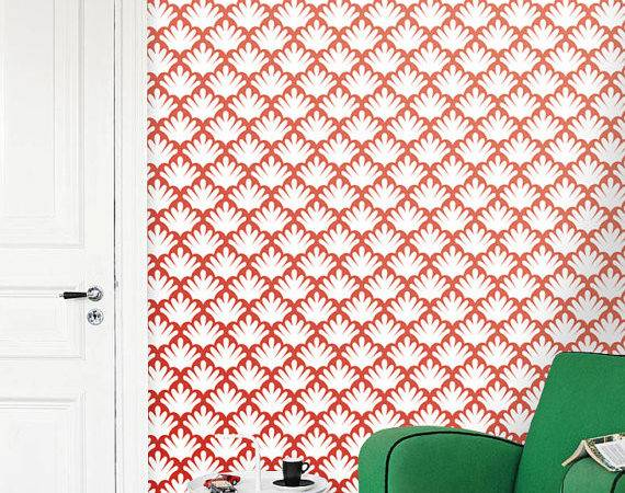 Removable Self Adhesive Modern Vinyl Material Wall