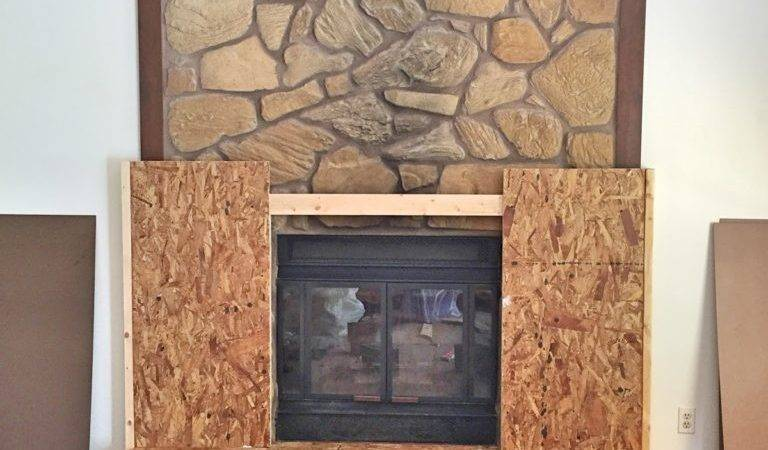 Rental Approved Faux Fireplace Facade Domicile