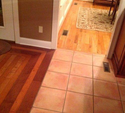 Replace Tile Floor Kitchen