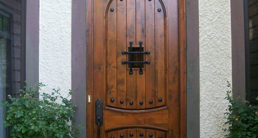 Rescuing Wood Front Door Brink Painting