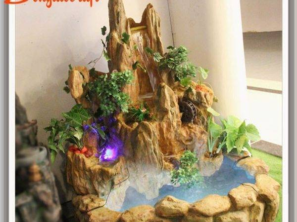 Resin Indoor Fountains Waterfalls Waterscape