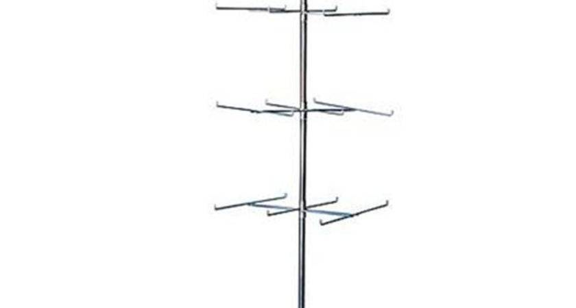 Retail Display Hanging Floor Spinner Rack Tier Wire