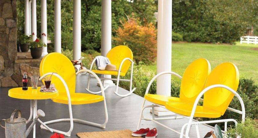 Retro Furniture Outdoor Relaxation