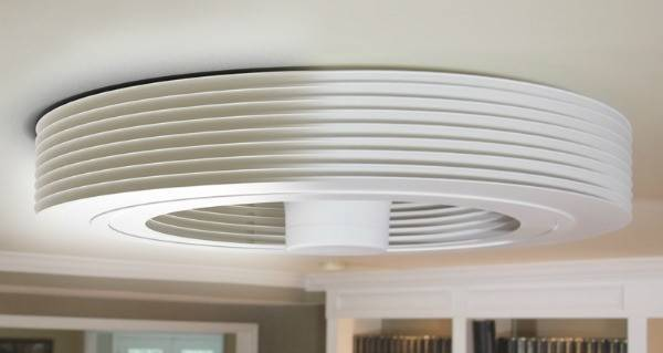 Revolutionary Bladeless Ceiling Fan Exhale Fans