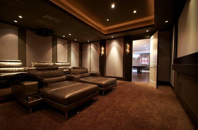 Richmond Theater Room Modern Home Other