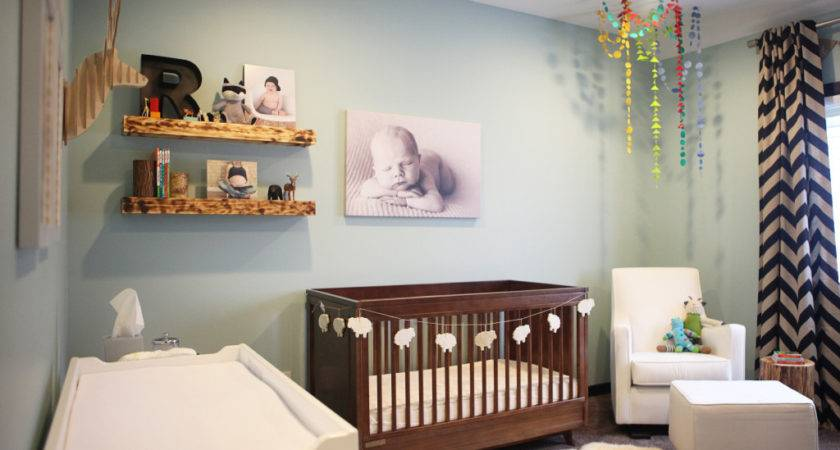 River Rustic Modern Nursery Project