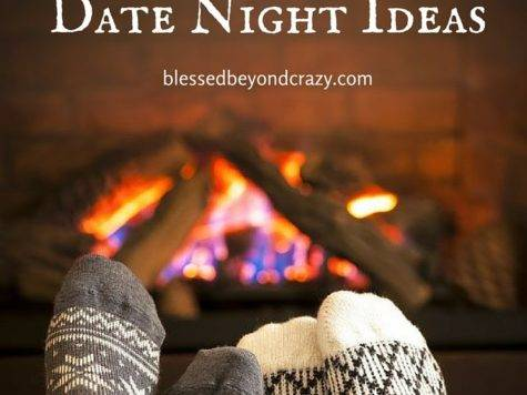 Romantic Stay Home Date Night Ideas
