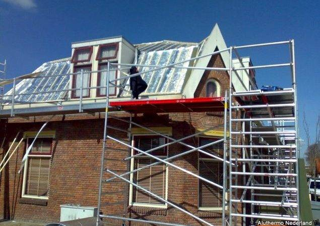 Roof Renovation Aluthermo
