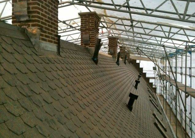 Roof Renovation Listed Building Aluthermo