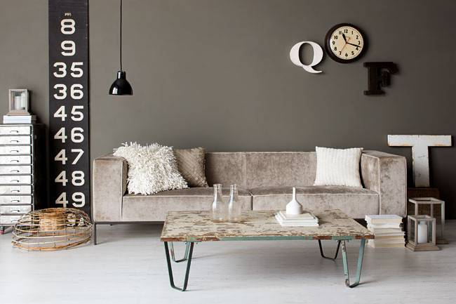 Rosa Inspiration Industrial Style Interior Design