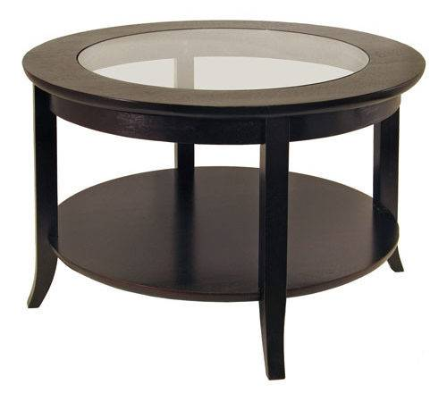 Round Coffee Table Glass Top Tables