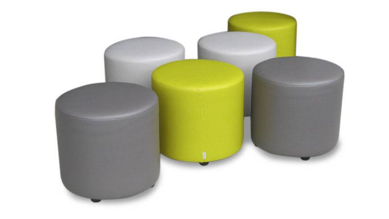 Round Ottoman Reception Seating Designer