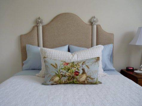 Rowley Company Custom Headboard Decorative Hardware