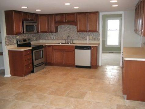 Rubber Tile Flooring Kitchen Design Information