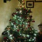 Rural Life Christmas Tree All Decorated