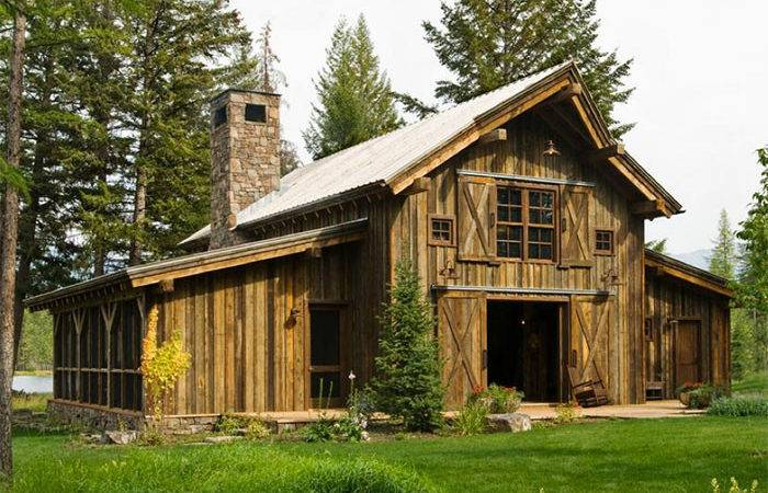 Rustic Barn Homes Cabin Home Decor