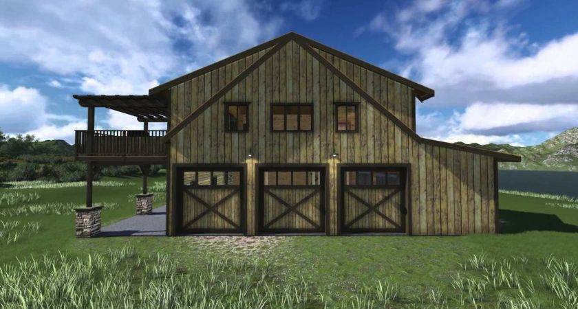 Rustic Barn Homes Home Office