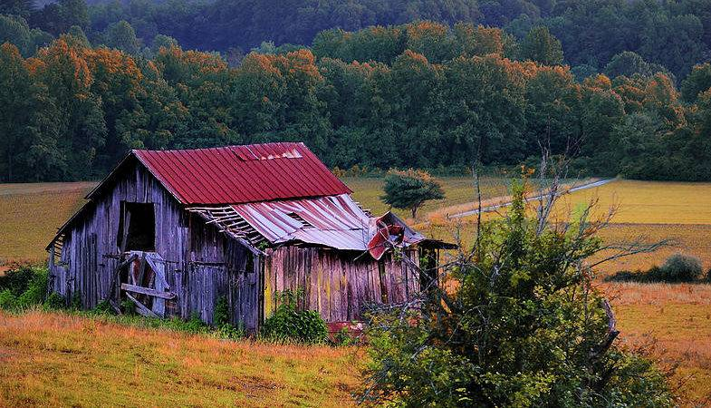 Rustic Barn Wears Valley Tennessee Photograph Thomas