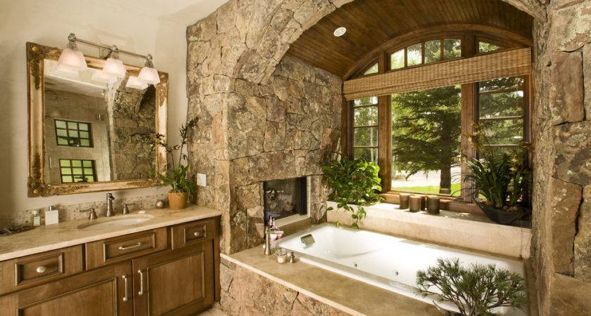 Rustic Bathroom Wall Decor Cottage Style Ranch House