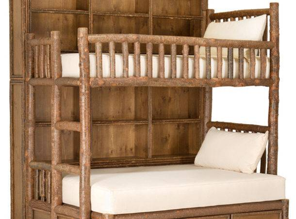 Rustic Custom Bunk Bed Lune Collection