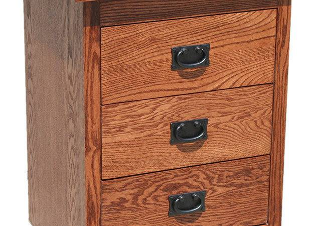 Rustic Furniture Small Drawer Nightstand