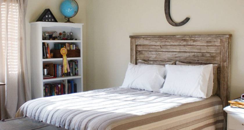 Rustic Headboard Yourself Home Projects Ana White