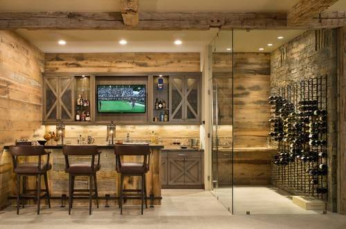 Rustic Home Bar Thechicybeast