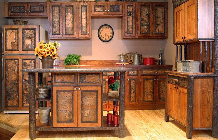 Rustic Kitchen Cabinets Hac