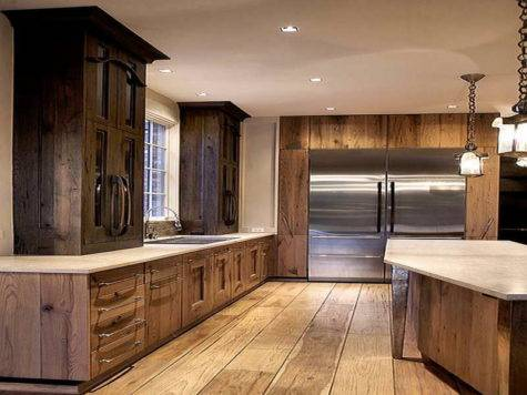 Rustic Kitchen Cabinets Paint